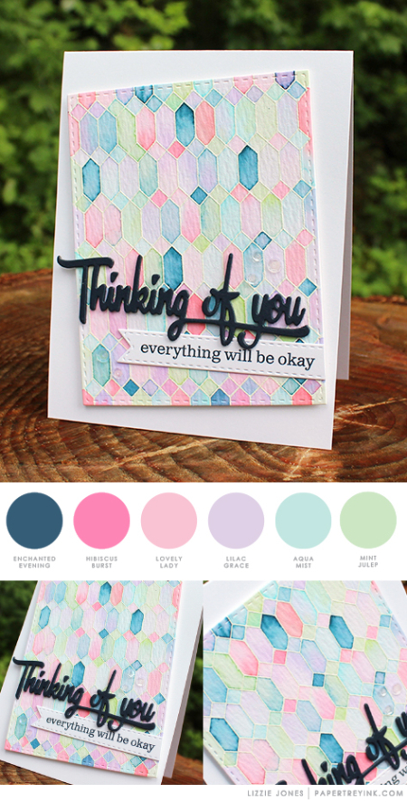 Thinking of You by Lizzie Jones for Papertrey Ink