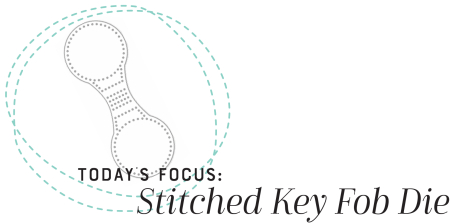 Stitched Key Fob Heading