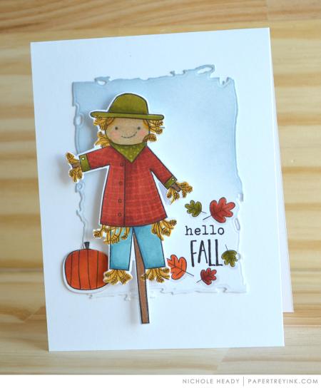 Hello Fall Card