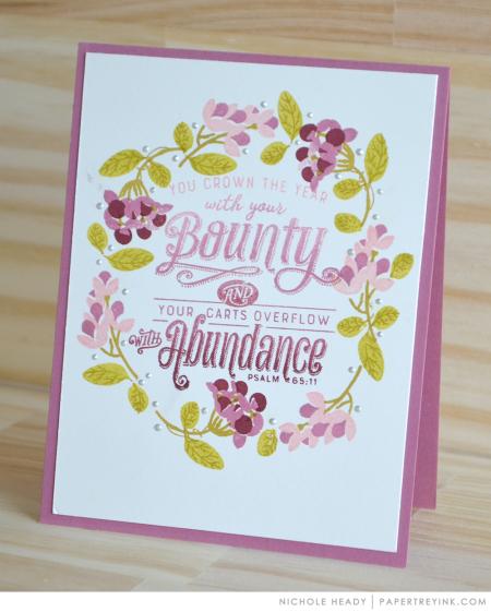 Bounty & Abundance Card