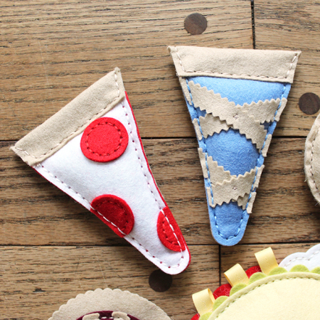 Pizza & Pie Catnip Toys