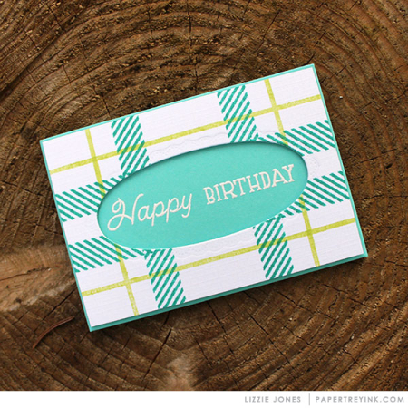 Plaid-Birthday-Gift-Card-Holder