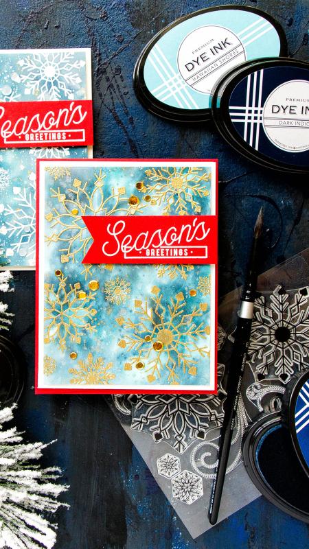 Yana-smakula-2017-PTI-October-Watercolor-Snowflake-Background-Season's-Greetings-Cards-1IG