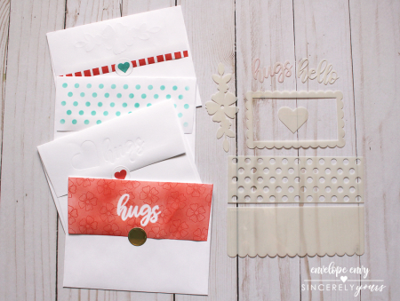 Envelope Envy Stencils