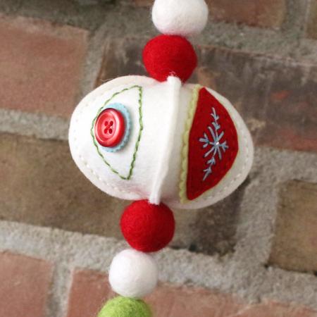 Stitched Ornament Garland 5