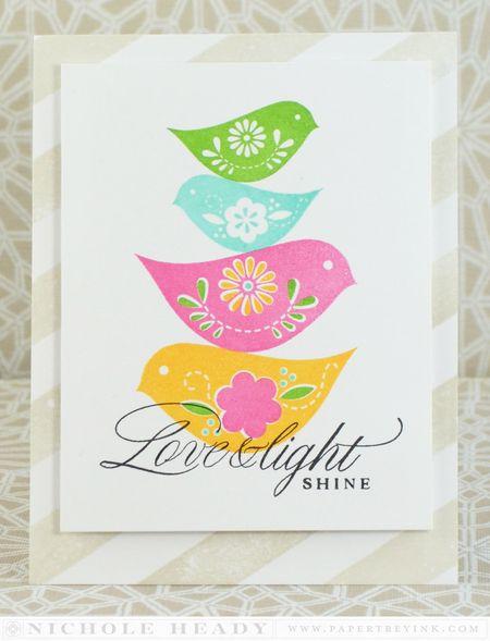 Love & Light Shine Card