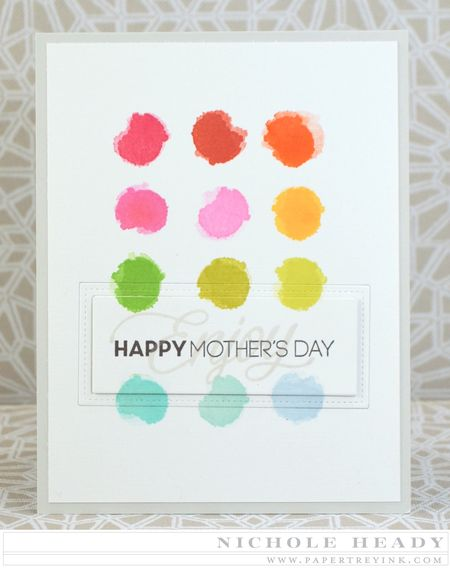 Rainbow Mothers Day Card