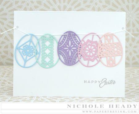 Easter Egg Banner Card