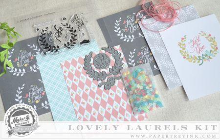Lovely Laurels Kit