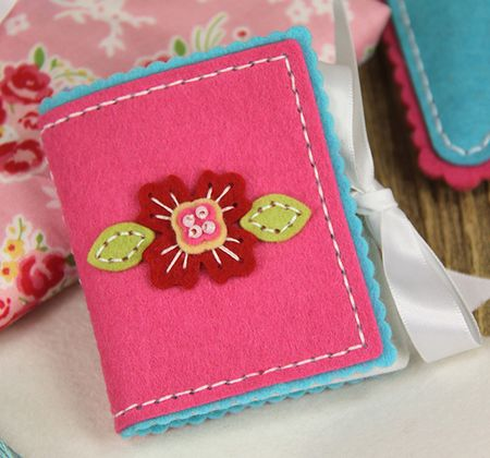 Needle book cover