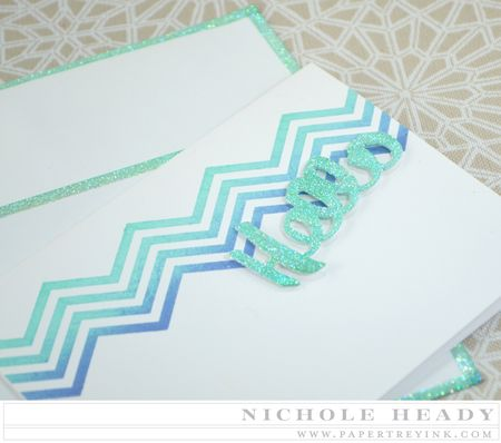 Sparkle Hello Notecard Set