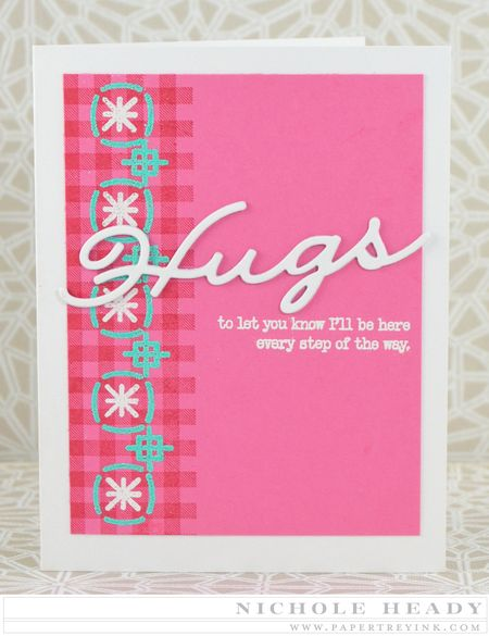 Hugs Every Step of the Way Card