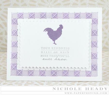 Stitched Kindness Card