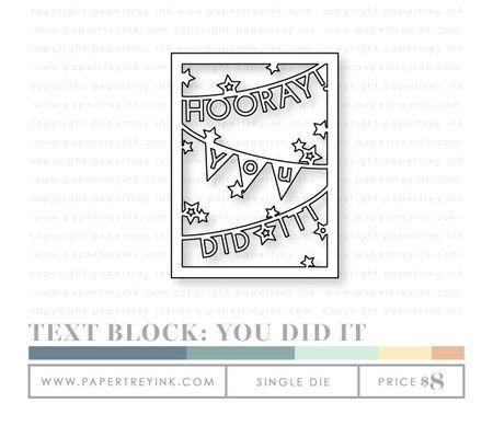 Text-Block-You-Did-It-die