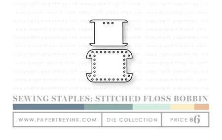 Sewing-staples-stitched-floss-bobbin-dies