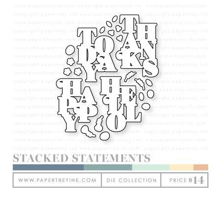 Stacked-statements-dies