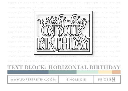 Text-block-horizontal-birthday-die