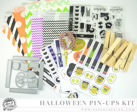 Halloween Pin-Ups Kit