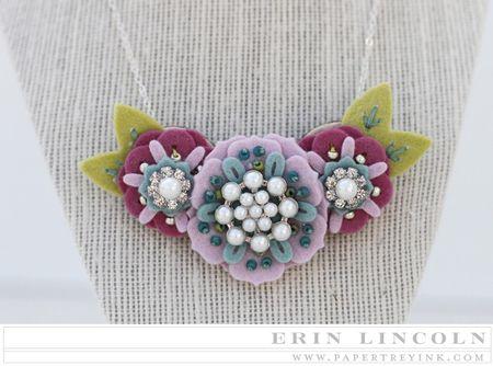 Stamp-a-Faire Necklace Close Up