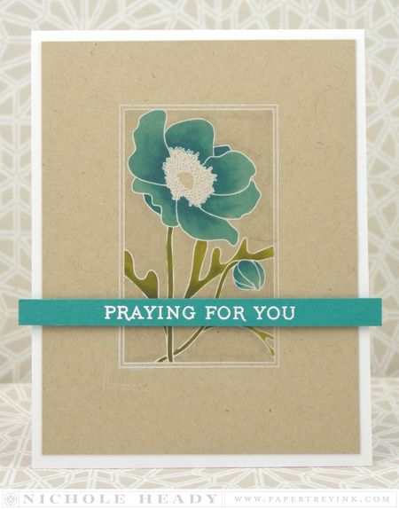 Praying for You Card