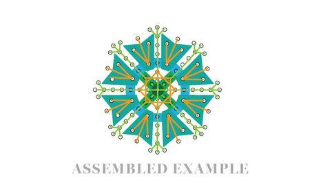Assembled-medallion