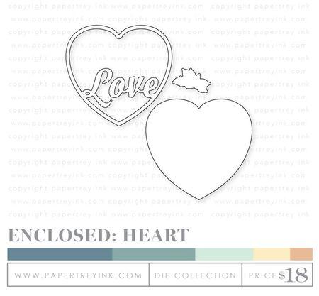 Enclosed-heart-dies