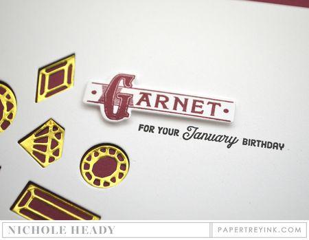Garnet closeup