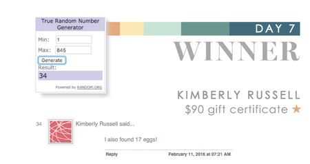 Day 7 Kimberly
