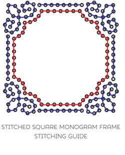 Monogram Frame Square