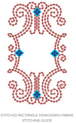 Monogram Frame Rectangle