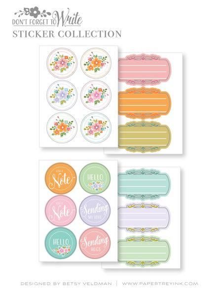 Sticker-Collection