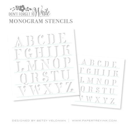 Monogram-Stencils