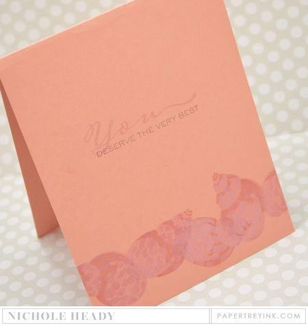 Tulip Shell Shimmer Card