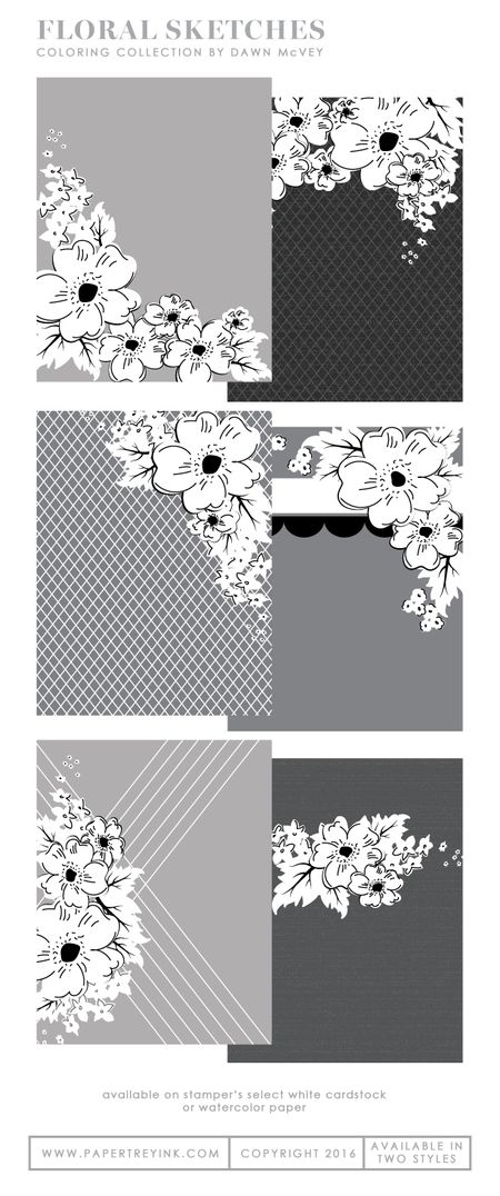 Floral-Sketches-coloring
