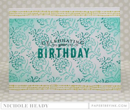 Celebrating Your Birthday Card