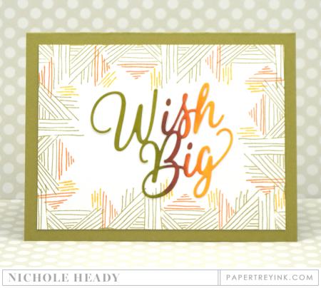Wish Big Masculine Card