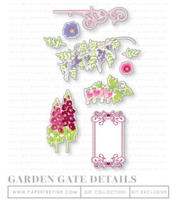 Garden Gate Details dies