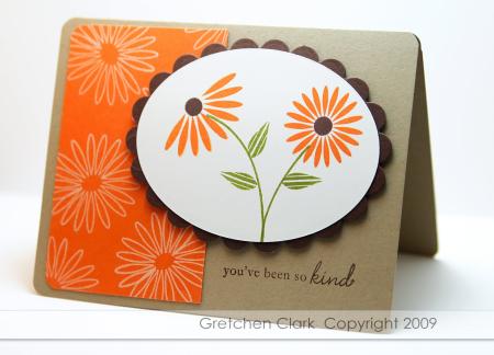 Floral frenzy pumpkin pie