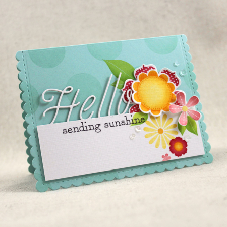 10th Anniversary - Sending Sunshine Card