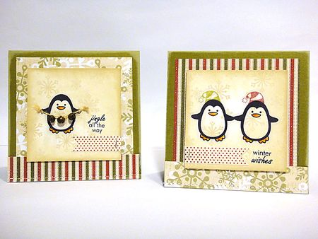 Winter Penguin - Heather 2