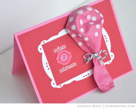 Inflate & Celebrate Card