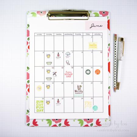 Calendarclipboard