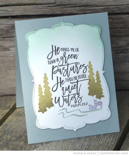 Green Pastures Card