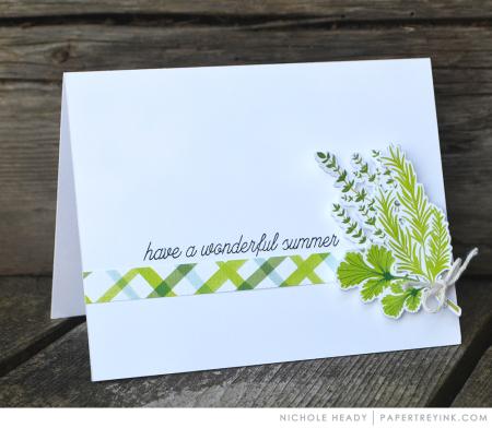 Summer Bouquet Card