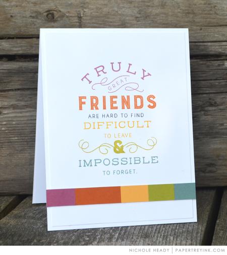 True Friends Card
