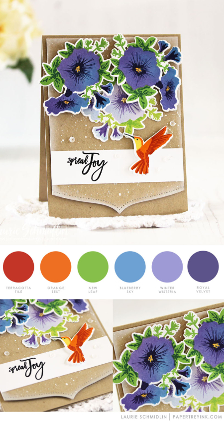 Spread Joy by Laurie Schmidlin for Papertrey Ink