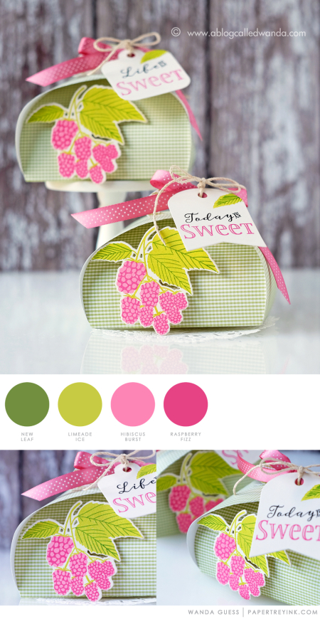 Petal Boxes by Wanda Guess for Papertrey Ink