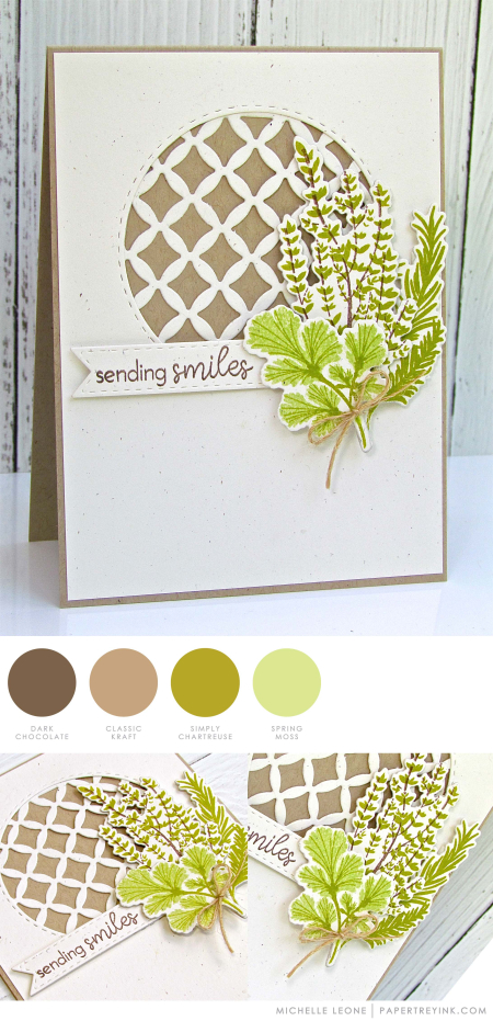 Sending Smiles by Michelle Leone for Papertrey Ink