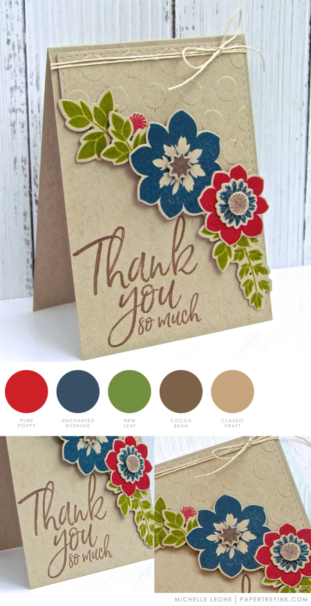 Thnak You by Michelle Leone for Papertrey Ink
