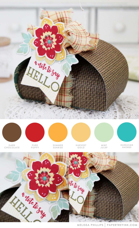 Hello Box by Melissa Phillips for Papertrey Ink